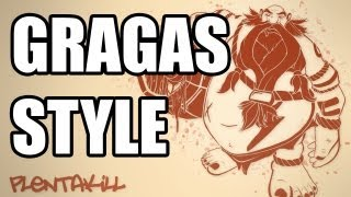 Repeat youtube video PlentaKill feat. Nitzan Frock - Gragas Style (PSY - Gangnam Style LoL Parody) PLK