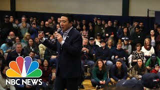 Andrew Yang Addresses Anti-Asian Racism Surrounding COVID-19 | NBC News
