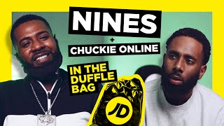 NINES MAKES RARE PODCAST APPEARANCE WITH CHUCKIE ONLINE | JD IN THE DUFFLE BAG PODCAST