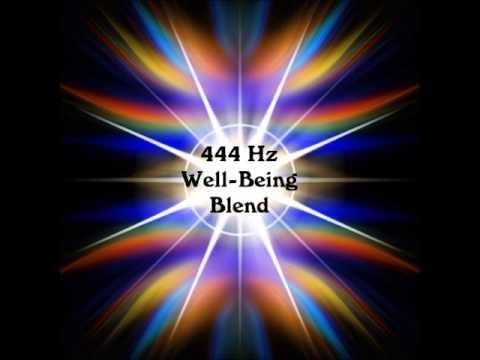 Amazing 444 Hz WELLBEING BLEND! Physical, Emotional Balance & Joy Beyond Binaural