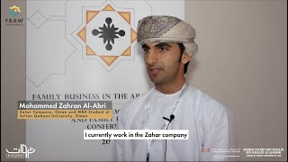 FBAW Conference - Insights by Mohammed Zahran Al-Abri