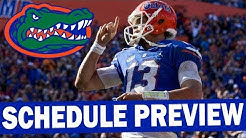Florida 2019 Schedule Preview - Projected Win Total
