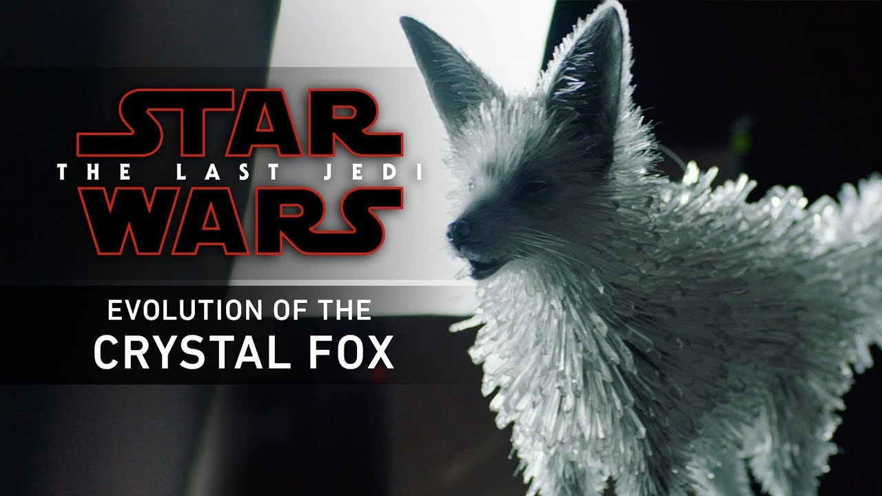Star Wars The Last Jedi Evolution Of The Crystal Fox