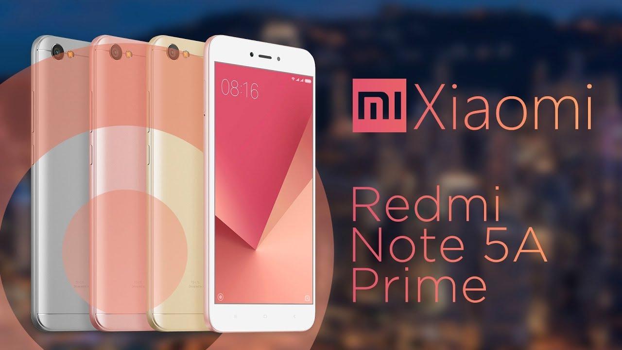 Обзор смартфона Xiaomi Redmi Note 5A Prime