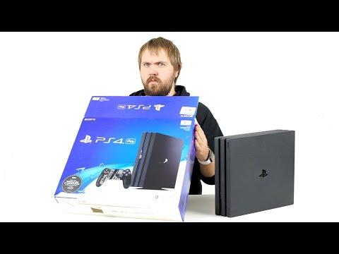Распаковка PS4 Pro и есть ли смысл брать?