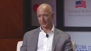 Jeff Bezos TALKING ABOUT Elon Musk Mars Colonization And AI