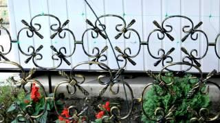 Кованые заборчики и ограждения для клумб и цветников металлические вариант дизайна с ковкой(, 2016-10-05T10:40:30.000Z)