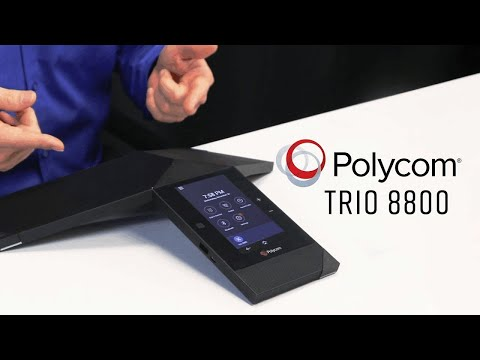 5 Great Features Of The Polycom Trio!