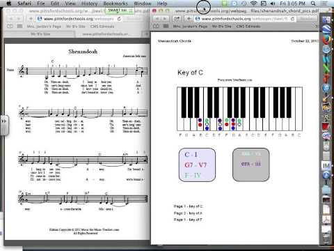 Shenandoah Chord tutorial