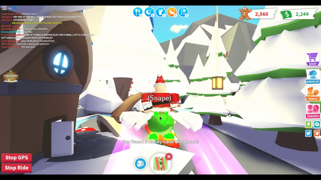 Finding ALL The Decorations For The CHRISTMAS TREE In Adopt Me! - YouTube