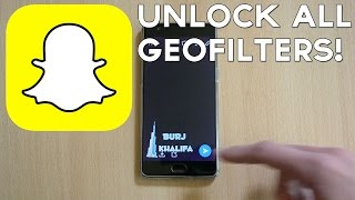 How to Get Any GeoFilter on Snapchat Anywhere in the WORLD!