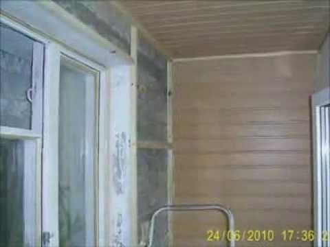 Балкон под ключ в Киеве: работы, услуги по утеплению и обшивке от Тепловик Ltd