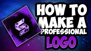 How To Make A Professional Youtube Logo Using Pixlr!! (No Photoshop + VERY SIMPLE)
