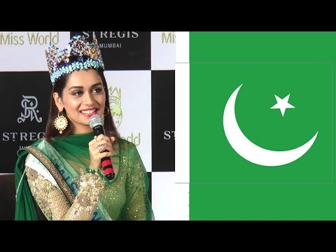 Manushi Chillar's BEST Reply To Pakistan Claiming Their Women Can Easily Win Miss World 2017