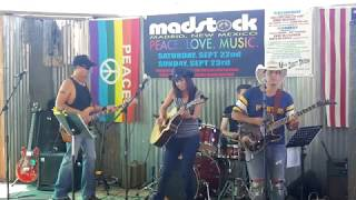 MADSTOCK – 1st Ever Madrid NM Festival  Mine Shaft Tavern 2018 Hollyhocks