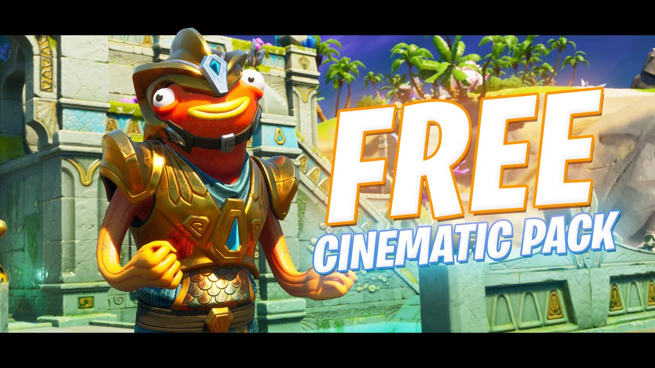 NEW CORAL CASTLE + Atlantean Fishstick Cinematic Pack (FREE Season 3 Downloads)