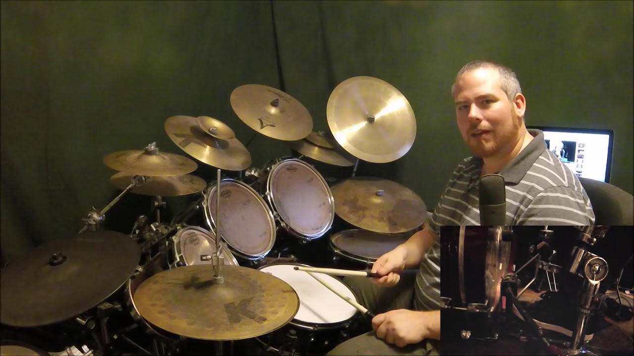 """How to Play Tom Petty """"Free Fallin'"""" Drums - YouTube"""