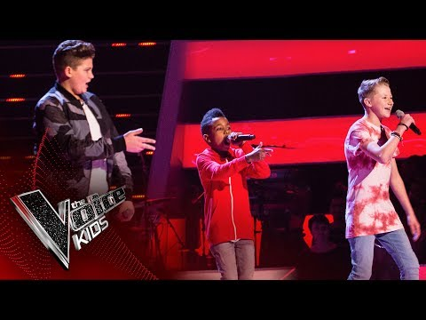 Perry, Lil T, Cole  Beggin: Battles  The Voice Kids UK 2017