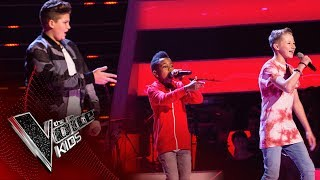 Download Perry, Lil T, Cole - 'Beggin'': Battles | The Voice Kids UK 2017 Mp3 and Videos