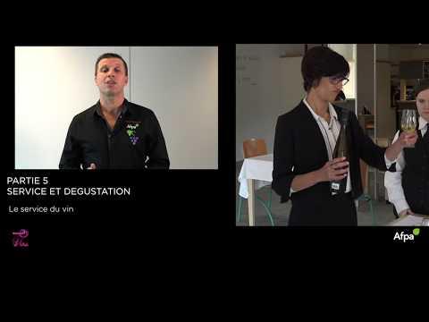 UA5 - Vidéo 3 - Les règles de service du vin