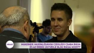 Mandiner: Hasonlóságok Czeglédi Csaba írása és az ördög ügyvédje blog írásai között