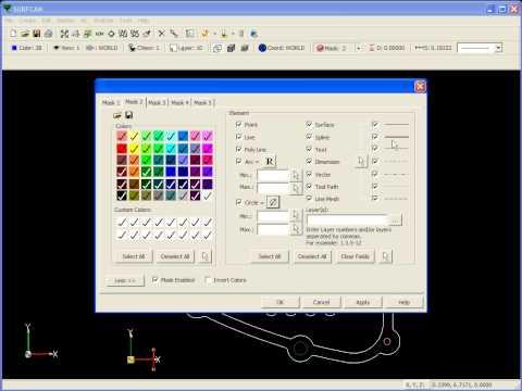 Tutorials - Standard CAD - Masking