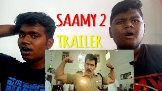 Saamy² - TRAILER REACTION AND REVIEW | Saamy Square | Chiyaan Vikram | Hari