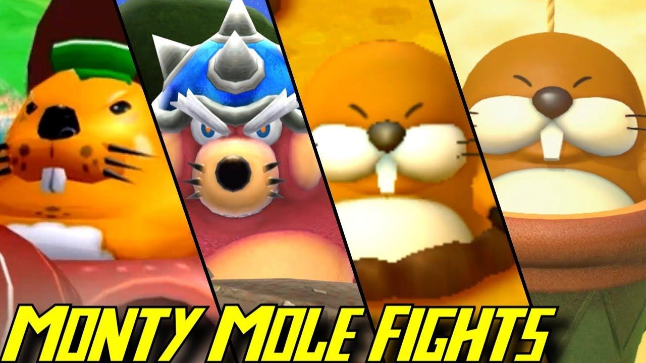 Evolution of Monty Mole Battles (2002-2018)