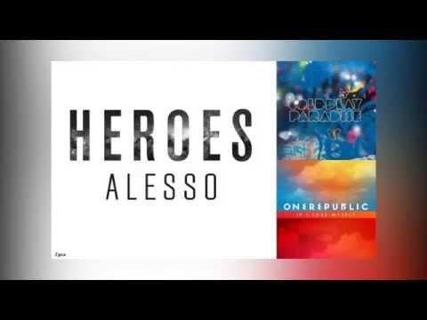 Heroes(We could be) Vs. Paradise Vs. If I Lose Myself (Mashup)