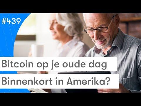Bitcoin Als Pensioen In Amerika? | BTC Nieuws Vandaag | #439