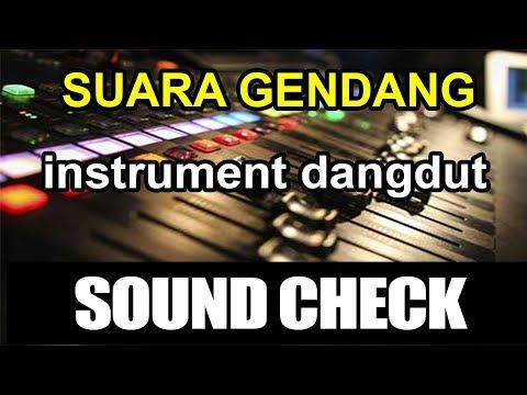 Suara Gendang Instrument Cek Sound