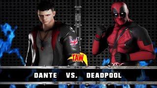TAW - Dante vs Deadpool 5/17/20 WWE 2K18