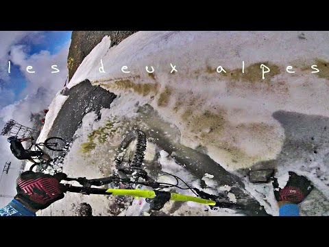les deux alpes mtb - top to bottom // grand nord , belle etoile , sapins