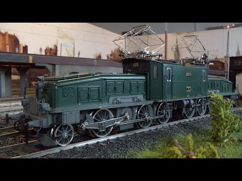 Toy Trains in 1 Gauge at the Hamburg Model Railroad Museum