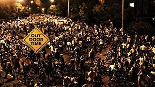 Безопасность при катании ночью на велосипеде