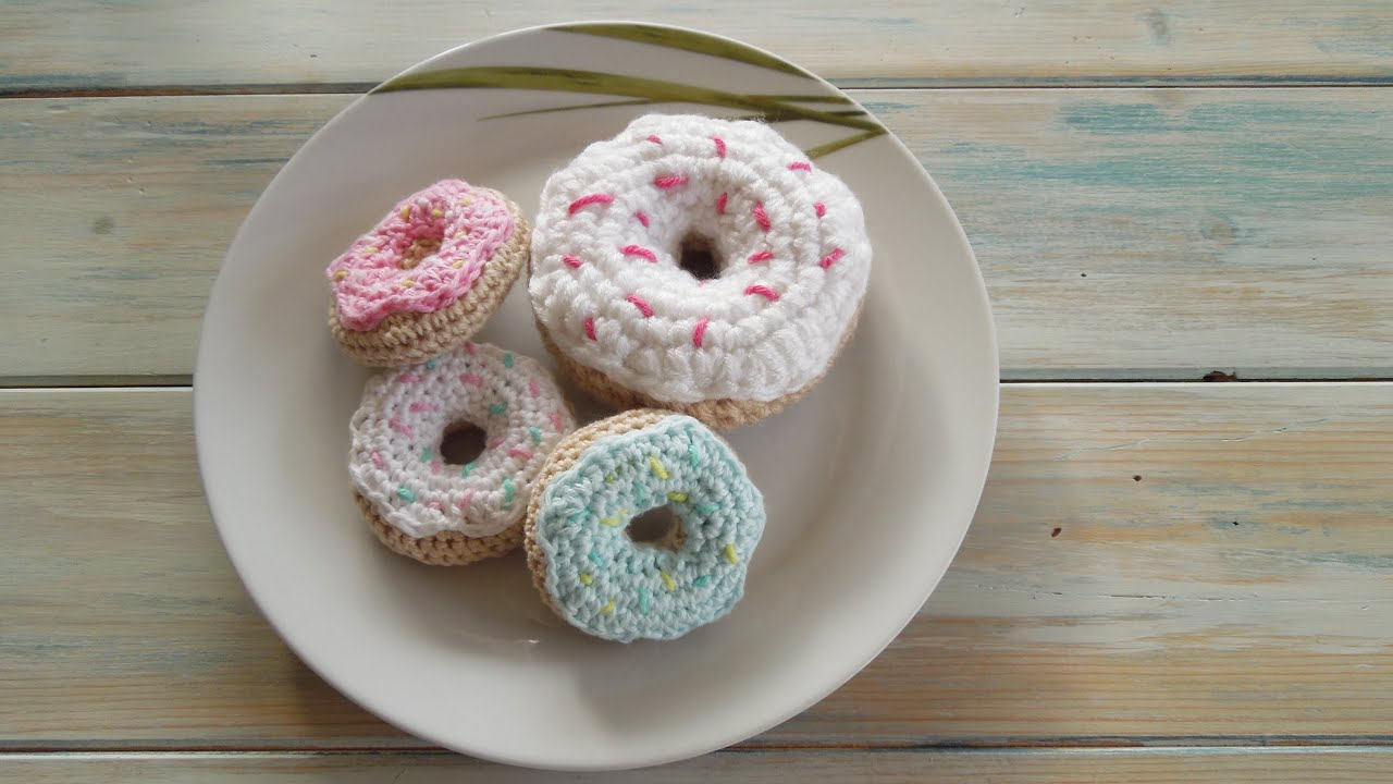 Amigurumi Donuts / Crochet Donut Keychain, Design & Craft ... | 720x1280