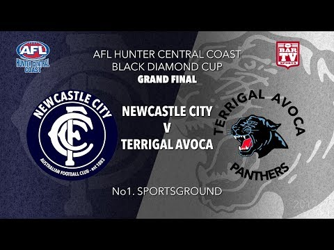 2019 Hunter Central Coast AFL Black Diamond Cup - Grand Final - Terrigal Avoca V Newcastle City