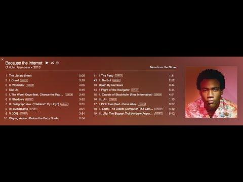 Childish Gambino   Because The Internet Full Album HD