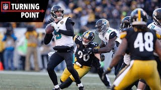 Bortles Silences the Doubters With Upset Win Over Steelers (AFC Divisional) | NFL Turning Point