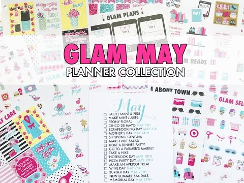 Paper & Glam May Planner Collection Unboxing & New Releases!!