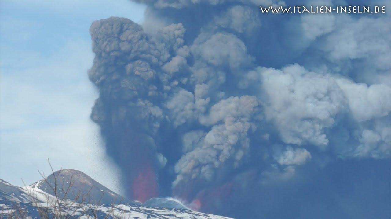 Vulkan Etna Sizilien - Mongibello 365