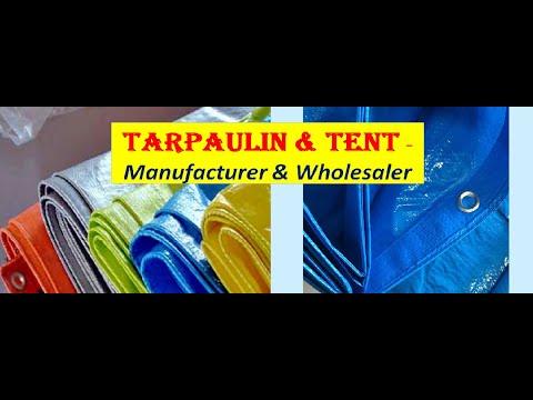 TARPAULIN & TENT - MANUFACTURER & WHOLESALE
