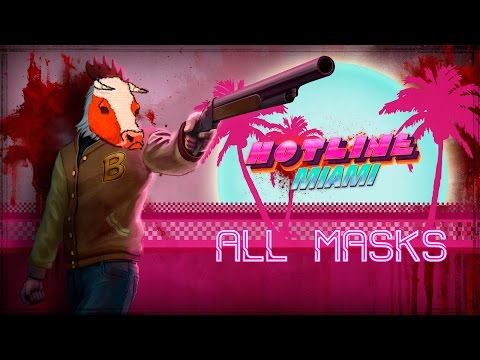 Hotline Miami ALL MASK LOCATIONS AND EFFECTS