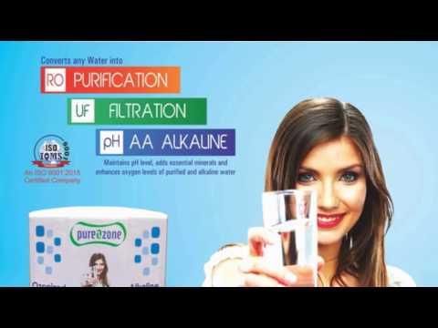 pureozone alakline water | ph water |ozonizer