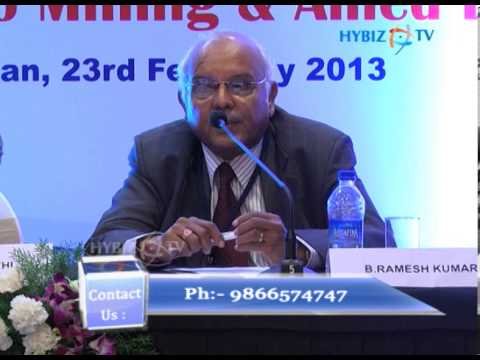 B. Ramesh kumar ,NMDC at Mining Geological and metallurgical institute