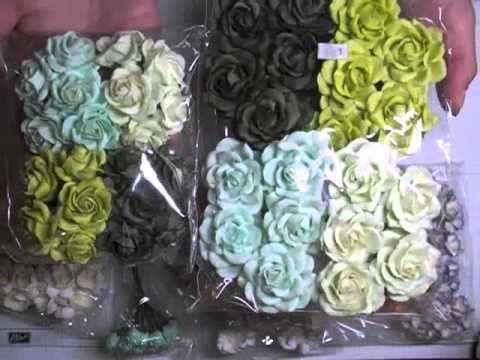Mulberry Paper Flower Haul WOC Design Kit