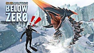 ¡ENCUENTRO AL ICE WORM LEVIATÁN Y ES ENORME ! ⭐️ Subnautica Below Zero #21 | iTownGamePlay