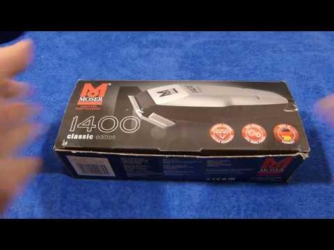 Машинка для стрижки волос Moser 1400 Classic Edition мои впечатления