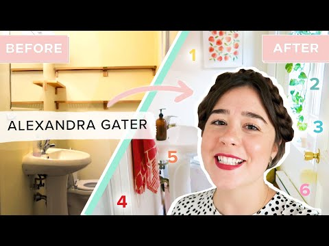 6 Renter-Friendly Tips To Upgrade Your Bathroom • Alexandra Gater