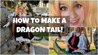 Cosplay Dragon Tail Tutorial: Tohru from Miss Kobayashi's Dragon Maid